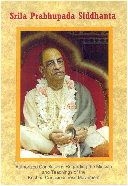 Srila Prabhupada Siddhanta
