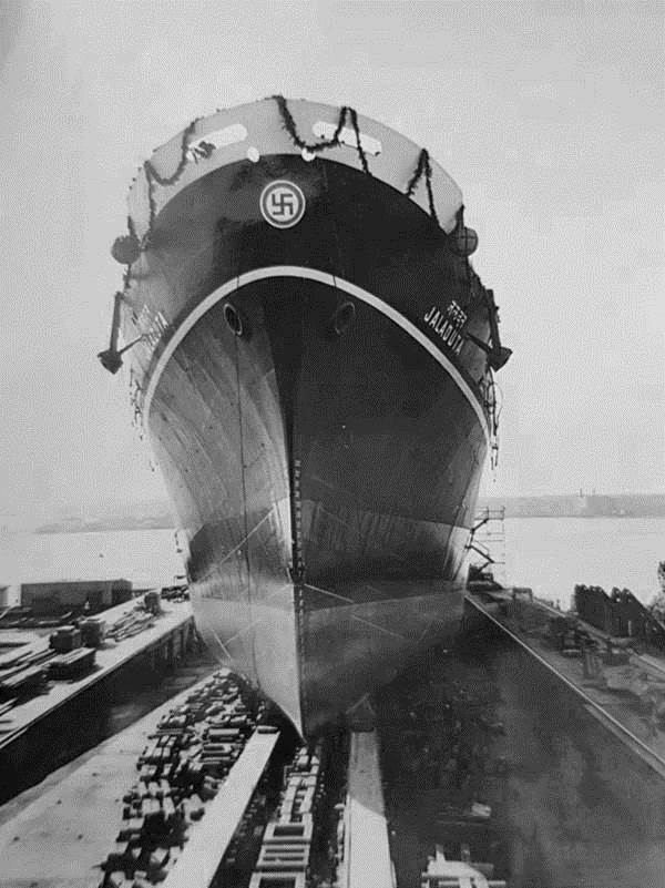 60 years ago, on March 10, 1959 the MS Jaladuta was launched in Germany