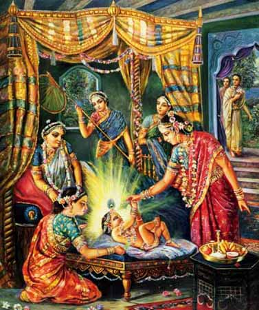 Image result for images of birth of sri caitanya